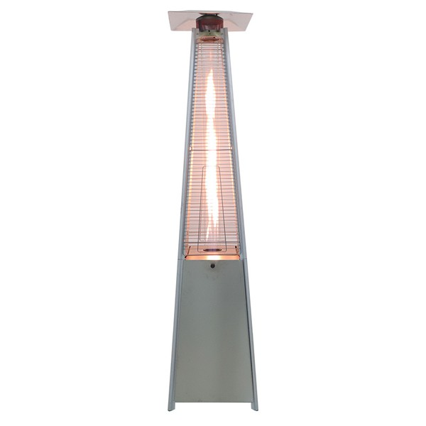 Stainless Steel Pyramid-Style Gas Patio Heater